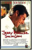 VHS Video Komödie ,  Jerry Maguire - Spiel Des Lebens   -  Von 1998 - Lovestorys