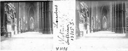 V1196 - EMPIRE BRITANNIQUE - LONDRES - Abbaye De Westminster - Intérieur - Plaques De Verre