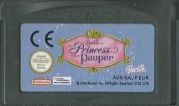 - JEU GAME BOY ADVANCE BARBIE AS THE PRINCESS AND THE PAUPER (FONCTIONNE SUR SP) - Nintendo Game Boy
