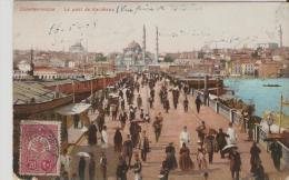 Constantinople.Le Pont De Karakeuy. - Turkije