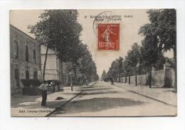 CPA 10 : ROMILLY SUR SEINE   Route Nationale   1918     A  VOIR  !!!!!!! - Romilly-sur-Seine