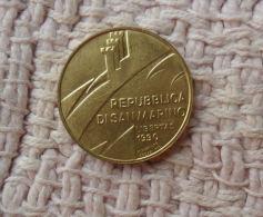 MONETA DA 20 LIRE DI SAN MARINO DEL 1990  IN FDC - - San Marino