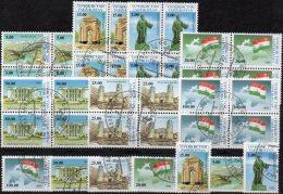 Unabhängigkeit 1993 Von Tadschikistan 15/21 Plus 7xVB O 30€ Natur/Denkmal Oper Festung Flagge Map Bloc Flag Sheet Bf GUS - Tagikistan