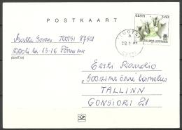 Estland Estonia Estonie Postkarte Ganzsache 2001 - Estland