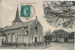 Carte Postale Ancienne De SAINT FLOVIER - France