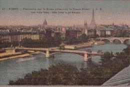 PARIS-Panorama Sur La Seine-N45 AP - France