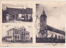 Tyu-  57 Moselle  Cpa   SOUVENIR De QUATRE-VENTS - Other Municipalities