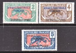 Ubangui-Chari  Tchad  42-4   * - Ubangui (1915-1936)
