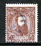 Belgium Congo  9  (o) - 1884-1894 Precursors & Leopold II
