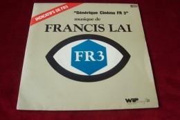 FRANCIS LAI  °  GENERIQUE CINEMA FR 3 - Compilations