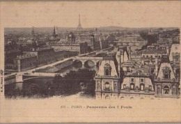 PARIS-Panorama Des 7 Ponts-N113 - France