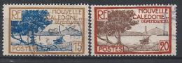 Nlle Calédonie N°144-145 Obl. - Neukaledonien