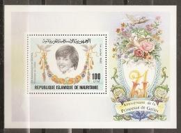 FAMILIAS REALES - MAURITANIA 1982 - Yvert #H35 - MNH ** - Familias Reales