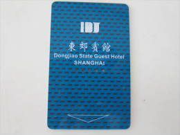 China Hotel Key Card,Dongjiao State Guest Hotel,Shanghai - Tarjetas Telefónicas