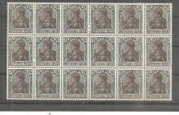 DSP026c/ Germania, Mi.Nr.104 (1919)  18ner Einheit - Ungebraucht