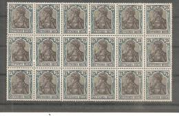 DSP026c/ Germania, Mi.Nr.104 (1919)  18ner Einheit - Germania