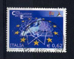 Italia Italie Italy  2004 USATO -  Costituzione Europea - 2001-10: Usati