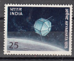 INDIA,  1975,  Launch Of First Indian Satellite, Aryabhatta,   MNH, (**) - India