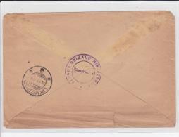 1928 - LITUANIE - ENVELOPPE En FRANCHISE (MINISTERE) De KAUNAS Pour UKMERGE - RARE MAIS ETAT MOYEN - Lithuania