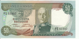 Angola 50 Escudos 1972 Pick 100 UNC - Angola