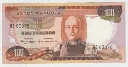 Angola 100 Escudos 1972 Pick 101 UNC - Angola