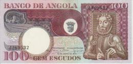 Angola 100 Escudos 1973 Pick 106 AUNC - Angola
