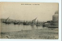 SAINT TROPEZ - Le Vieux Port Et Les Bateaux De Pêche - Edition Vve Mauget - 2 Scans - Ohne Zuordnung