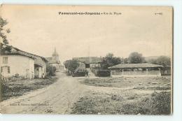 PASSAVANT EN ARGONNE : Rue Du Pâquis. 2 Scans. Edition Moisson - France