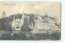 VILLERS SUR LESSE : Le Château. 2 Scans. Edition Nels - Belgique