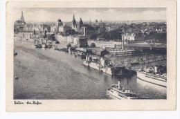 █▓▒   STETTIN   █▓▒  AM HAFEN    AK  ~ 1932      STETXV - Pommern
