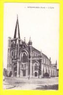 * Steenwerck (Dép 59 - Nord - France) * (Dumortier - Walle, édit, Nr 1) église, Kerk, Church, Kirche, Commune, Gemeente - Frankreich