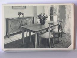 """EXPOSITION 1937 - COURS LA REINE (75) - """"LA MAISON D´UNE FAMILLE"""" - LA SALLE A MANGER - Expositions"""