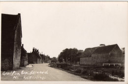 Grafton Underwood, Nr Kettering.       RPPC.        (D187). - Northamptonshire