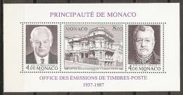 MÓNACO 1987 - Yvert #H39 - MNH ** - Nuevos