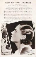 """LUCIENNE BOYER CHANTEUSE LA DAME BLEU """" PARLEZ MOI D'AMOUR """" - Chanteurs & Musiciens"""