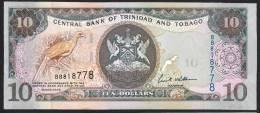 TRINIDAD & TOBAGO   : 10  Dollars - 2006 - P48 - UNC - Trindad & Tobago