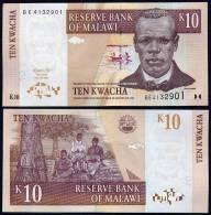 MALAWI  : Banconota 10  Kwacha - P43 - FDS - Malawi