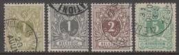 42/45  Gestempeld  Cote 3,75 Euro - 1869-1888 Lion Couché