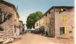 CPSM 07 ST MICHEL DE CHABRILLANOUX ENTRÉE DU VILLAGE - France