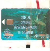 Tarjeta  Telefonicas Nueva.- Publicidad  Aquarium - Spanje