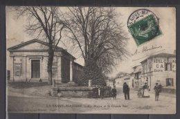 """33 - La Sauve Majeure - La Mairie Et La Grande Rue - """" Hotel Colline """" - Autres Communes"""