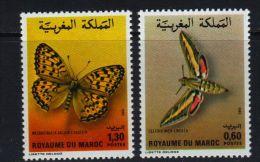MAROC - Marken V. 1982, Schmetterlinge (tie336) - Butterflies