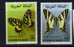 MAROC - Marken V. 1981, Schmetterlinge (tie337) - Butterflies