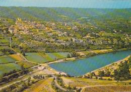 21920  GREOUX LES BAINS - VUE GENERALE AU 1ER PLAN LA RETENUE D' EAU . Y69810 Cellard - Gréoux-les-Bains