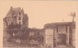 21921 Deux Cpa, Ballon  - 735 Chateau Murs  -2000 Vieux Chateau Porte. éd ? Texte - France