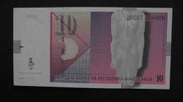 Macedonia - 10 Dinari - 2006 - P 14f - Unc - Look Scan - Mazedonien