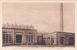 21926 LILLE: Institut Catholique D´Arts Et Métiers,  Machine Et Chaufferie -sans Ed -cheminee - Lille