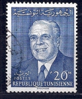 Tunisie-Président Bourguiba YT 585 Obl. - Tunisie (1956-...)