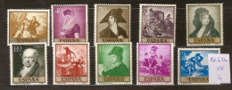 Espagne 901 à 910 ** Côte 4 € - 1931-Heute: 2. Rep. - ... Juan Carlos I