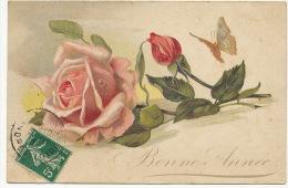 La Rose Et Le Papillon Butterfly - Vlinders